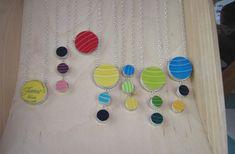 Fiestaware necklaces from The Broken Plate Pendant Company | Art Star Craft Bazaar Jewels and Accessories - Indie Fixx