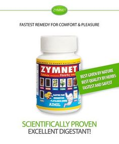 #Zymnet is an #Ayurvedic formulation derived from #HerboMineral sources and is an excellent #digestant providing relief in #gastric discomfort.