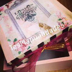 Tea box caja para té by TesManualidades