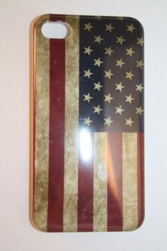 Distressed American Flag IPhone Case