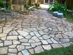 20+ Best Stone Patio Ideas for Your Backyard | Small patio, Patios ...