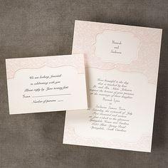 Soft, feminine vintage wedding invitation from our boutique. 615-216-7576 #vintage