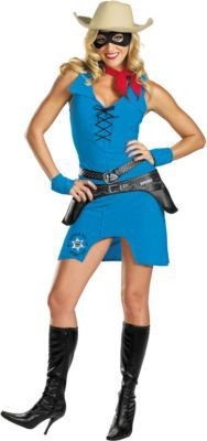 Adult Sassy Lone Ranger Costume