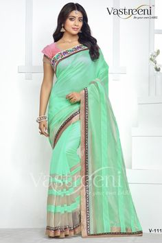 Rozdeal Stylish Cyan Color Designer Saree. STYLE: Designer Saree FABRIC: Swarn Silk WORK: Print, Lace Work COLOUR: Cyan OCCASION: Party, Festival, Reception, Ceremonial Blouse Fabric : Pure Swarn Silk Saree Size:- 5.50mtr Blouse Size:-0.80mtr