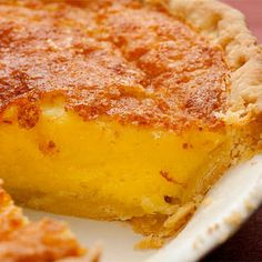 Buttermilk Chess Pie - I remember my mothers mother making this.