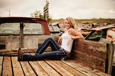 senior pictures country trucks