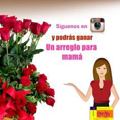 ¡Consiente a tu mamá con Floristería Evelyn! Solo debes seguirnos en nuestra cuenta de Instagram @floristeriaevelyn y estarás participando en el sorteo de un arreglo floral.   Publicaremos al ganador este jueves 7 a las 3pm