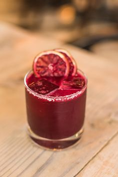 'Let the Beet Drop' Cocktail  This cocktail combines the smoky flavour of…