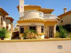 Roldan Villa for sale in Torre-Pacheco, Region of Murcia, Spain Murcia Spain, Golfers, Golf Courses, Villa, Real Estate, Mansions, House Styles, Real Estates, Villas