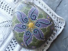 Painted Rocks/Painted Stones/Dot by TheLakeshoreStore on Etsy, $20.00