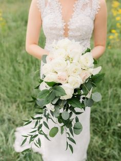Flowers by Sisters Floral Design Studio www.sistersflowers.net Image by Dorothy Louise Photography #sistersfloraldesignstudio #weddingflowers #bridalbouquet #cascadebouquet #whiteivory Bridesmaid Bouquet, Wedding Bouquets, Bridesmaids, Wedding Flowers, Wedding Dresses, Cascade Bouquet, Wedding Designs, Blush Pink, Floral Design