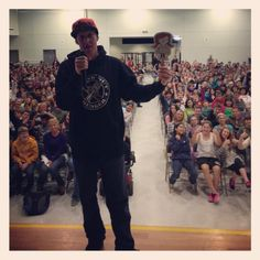 Danny Keith Grind Out Hunger New Brighton Middle School @grindouthunger http://grindouthunger.org/2013NewYearResolution