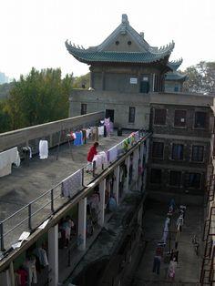 Domitory at Wuhan University, Wuhan, China, November 2007 © Ni Yan