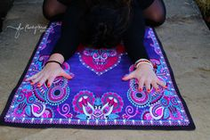 Beautiful Yoga Mat /Yoga Towel Combo Fusion. Biodegradable Tree Rubber, Toxin Free. Fade Resistant Inks. Machine Washable. We plant a tree for every mat sold. Practice in Good Karma. MAGIC CARPET RIDE- GYPSY by Free Thirty Three Yoga Design Co. www.freethirtythree.com