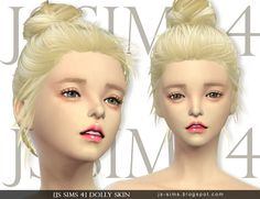 Dolly Skin at JS Sims 4 via Sims 4 Updates