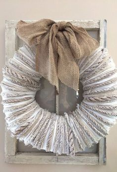 wreath from live tour of modern farmhouse, crafts, how to, wreaths