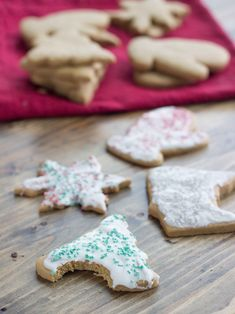 Coconut Oil Whole Wheat Cutout Cookies | Veggie and the Beast