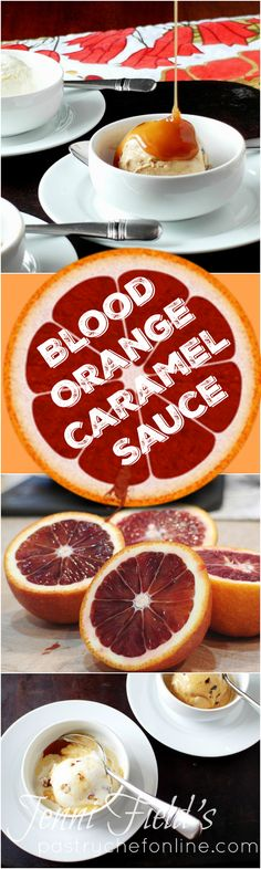 This blood orange caramel sauce is sophisticated and sweet, with the zing of citrus and the slight bitter edge of caramelized sugar. Perfection poured over ice cream, cake or drizzled over a slice of pie. If you're a fan of caramel sauce, you'll love this