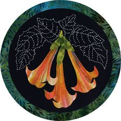 Angels Trumpet by Sylvia Pippen Designs