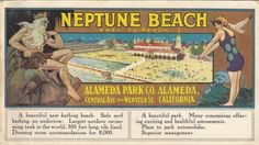 "A 1917 ad for Alameda's Neptune Beach, where Epperson sold his frozen ""Epsicle"" treats in the early 1920s."