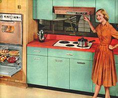 Bitchin' Blue Kitchen | Flickr - Photo Sharing!