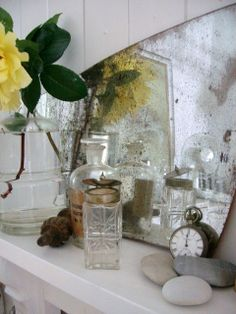 . Fishermans Cottage, Mantles, Fireplace Mantle, Cabaret, Cottage Chic, Cupboard, Rust, Drawer, Shelf