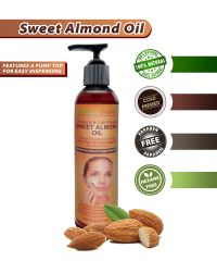 With a light velvety texture and a unique mixture of skin repairing vitamins and minerals, our Pure Sweet Almond Oil is a cold pressed, all natural, paraben & hexane free nourishing moisturizing Almond Oil Uses, Coconut Oil For Acne, Cooking With Coconut Oil, Benefits Of Coconut Oil, Organic Coconut Oil, Sweet Almond Oil, Oil Benefits, Organic Oils, Best Face Products
