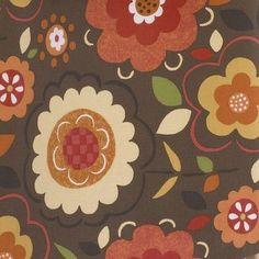 Cotton Tale Peggy Sue Flower Print Fabric