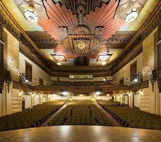 Warner Grand Theater, San Pedro CA, Photo by Hunter Kerhart