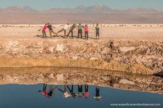 Ojos del Salar em San Pedro de Atacama
