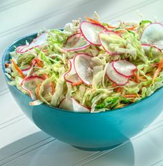 Jan's Coleslaw, made with BRIANNAS Rich Poppy Seed Dressing