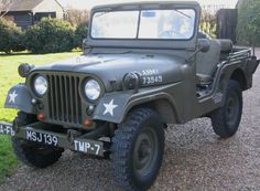 1961 Willys M38A1 Jeep