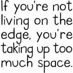 Don't waste space!