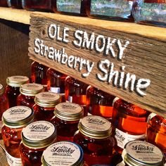 Add some sweetness to that moonshine with a taste of strawberry.