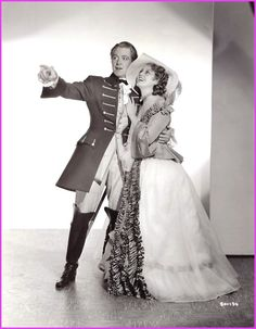 Naughty Marietta, Nelson Eddy, Jeanette MacDonald. Based on the operetta by Victor Herbert. Nominated for an Oscar for best picture. Received an Oscar for sound.