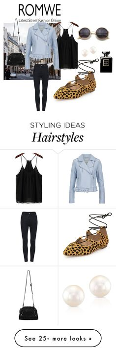 """""""Romwe"""" by zahirovic on Polyvore featuring Loeffler Randall and Gestuz"""