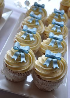 Christening Cupcakes | Flickr: Intercambio de fotos #cupcakes #cupcakeideas #cupcakerecipes #food #yummy #sweet #delicious #cupcake