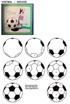 how to draw a soccer ball Iris Folding Templates, Iris Paper Folding, Iris Folding Pattern, Quilling, Soccer Cards, Locker Decorations, Soccer Pictures, Zentangle Drawings, Origami