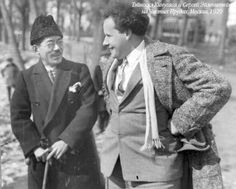 Teinosuke Kinugasa and Sergei Eisenstein.