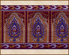 Turkish Delight got you Moroccan and mo' Rollin' - Shop http://www.athenasgrove.com  #sewing #fabric #trim #SCA #DIY #craft #design #LARP