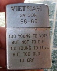 Zippo lighter from a US soldier in Vietnam - 9GAG