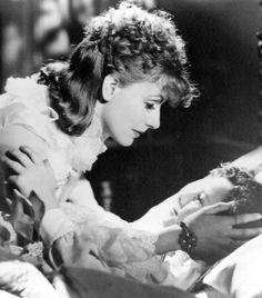 "Greta and Freddie Bartholomew in ""Anna Karenina"" (1935)"