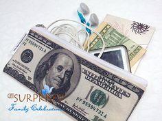 100-DOLLAR-REISE-ETUI. Sehr leichte Tasche für von GetSurprised