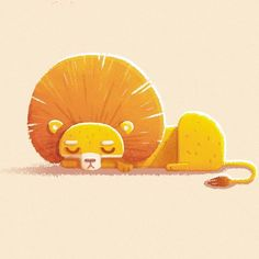 Instagram media by alena.tkach - Sleepy lion.. Just like me today.. #lion…