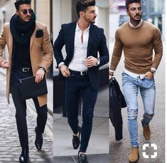 Each look has a style of its own