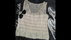 Crochet Blouse, Crochet Top, Chevron, Summer Patterns, Free Pattern, Spring, Sweaters, Handmade, Women