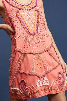 Slide View: 2: Reveka Embellished Shift Dress