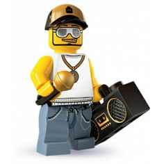 LEGO Minifigures - Rapper (firestartoys, 2013)