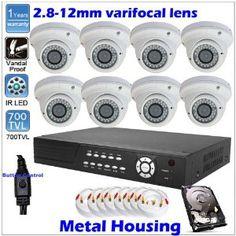 Am 1800TVL CCTV Sony CMOS CCD Bullet Outdoor Security Camera IR Cut 48IR LED X1#