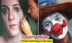25 Beautiful and Realistic Pastel Paintings by Ruben Belloso. Read full article: http://webneel.com/pastel-painting | more http://webneel.com/paintings | Follow us www.pinterest.com/webneel